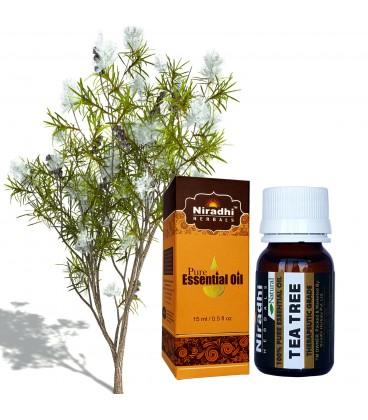 Olejek eteryczny czysty 100% DRZEWO HERBACIANE 30ml Niradhi Herbals