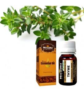 Olejek eteryczny czysty 100% TYMIANKOWY 15ml Niradhi Herbals