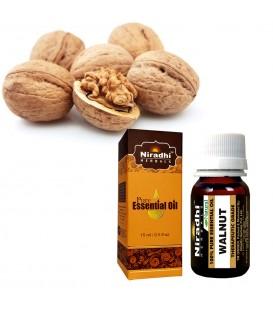 Olejek eteryczny czysty 100% ORZECH WŁOSKI 15ml Niradhi Herbals