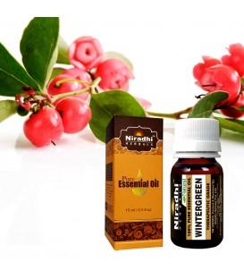 Olejek eteryczny czysty 100% WINTER GREEN Golteria (Gaultheria procumben) 15ml Niradhi Herbals