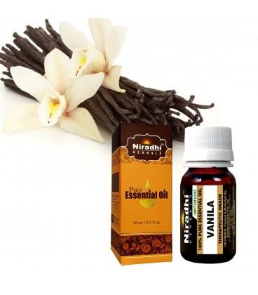 Olejek eteryczny czysty 100% WANILIA 30ml Niradhi Herbals