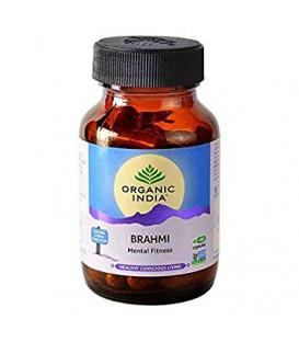 Brahmi-Gotu Kola Wąkrota azjatycka (Centella asiatica) Organic India 60 kaps x 400mg